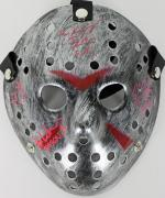Hodder, White, Kirzinger & Lehman Signed Friday The 13th Jason Mask JSA 7