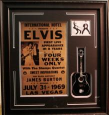 Hollywood Elvis Presley Guitar 16x20 Framed Photo