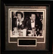 Hollywood Frank Sinatra/Dean Martin 11x14 Photo Framed w/ Quote