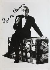 Hollywood Legend George Burns (d.1996) Autograph Signed 5x7 Photo JSA M7