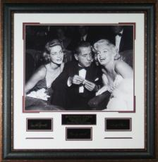 Hollywood Legends Marilyn Monroe Laser Signed 16x20 Framed