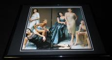 Hollywood Women 1997 Framed 11x14 Photo Display Jennifer Lopez Charlize Theron