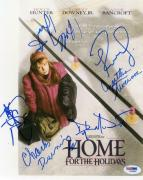 Home For The Holidays (6) Foster Downey & Hunter Signed 8.5X11 Photo PSA #I88884