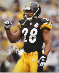 Chris Hope Pittsburgh Steelers Autographed 16x20 Photograph - Mounted Memories