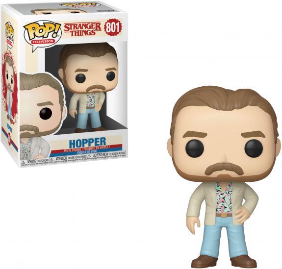 Hopper Stranger Things #801 Funko Pop! Figurine