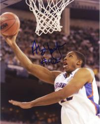 Al Horford Florida Gators Autographed 8'' x 10'' White Uniform Lay Up Photograph - Mounted Memories