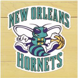 "NBA New Orleans Hornets 12"" x 12"" Logo Floor Piece"