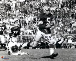 Paul Hornung Autographed Green Bay Packers 16x20 Photo vs Bears - HOF 86