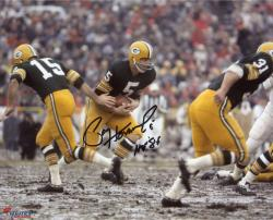 Autographed Paul Hornung 8x10 Photo - HOF 86