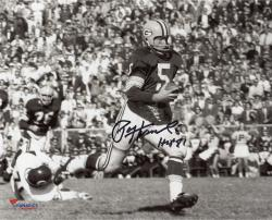 Signed Paul Hornung 8x10 Photo - HOF 86