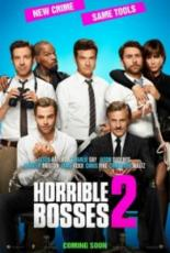 Horrible Bosses 2 Movie Poster Jason Bateman Charlie Day Jason Sudeikis Jamie Foxx Jennifer Aniston