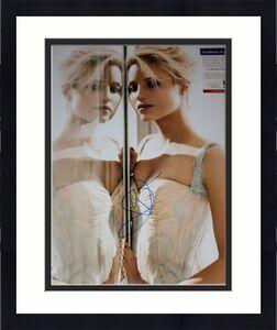 HOT Diana Agron signed 11 x 14, Maxim, Glee, The Family, PSA/COA 2