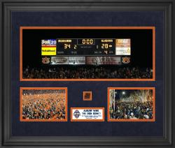 "Auburn Tigers Win Over Alabama Crimson Tide 2nd Edition Framed 20"" x 24"" Collage with Game-Used Football - Limited Edition of 100"