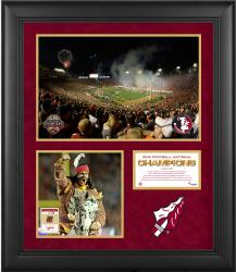 "Florida State Seminoles 2013 BCS National Champions Framed 20"" x 24"" Collage with Piece of Game-Used Football - Limited Edition of 250"