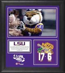 "LSU Tigers Win Over Florida Gators Framed 15"" x 17"" Collage"