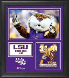 "LSU Tigers Win Over Texas A&M Aggies Framed 15"" x 17"" Collage"