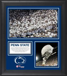 """Penn State Nittany Lions Win Over Michigan Wolverines Framed 15"""" x 17"""" Collage"""