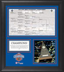 "Florida Gators 2014 NCAA Men's Basketball SEC Tournament Champion Framed 15"" x 17"" Core Collage"