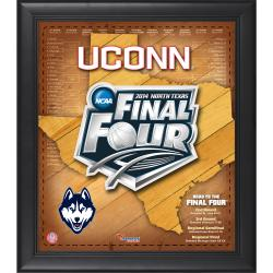 "UConn Huskies 2014 Final Four Framed 15"" x 17"" Collage"