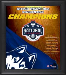 "UConn Huskies 2014 NCAA Men's Basketball National Champions Framed 15"" x 17"" Collage"