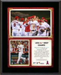 "Los Angeles Angels 2014 American League West Champions Sublimated 10.5"" x 13"" Plaque"