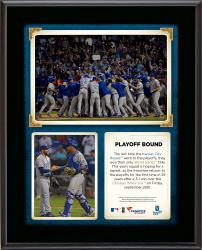 "Kansas City Royals 2014 Playoff Berth Sublimated 10.5"" x 13"" Sublimated Plaque"
