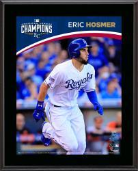"""Eric Hosmer Kansas City Royals 2014 American League Champions Sublimated 10.5"""" x 13"""" Plaque"""
