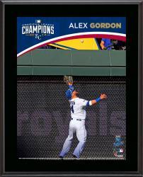 """Alex Gordon Kansas City Royals 2014 American League Champions Sublimated 10.5"""" x 13"""" Plaque"""
