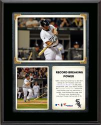 "Jose Abreu Chicago White Sox Franchise Rookie Home Run Record Sublimated 10.5"" x 13"" Plaque"