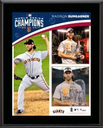 Madison Bumgarner San Francisco Giants 2014 World Series Champions 10.5'' x 13'' Sublimated Plaque