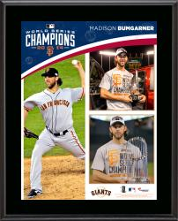 Madison Bumgarner San Francisco Giants 2014 World Series Champions 10.5'' x 13'' Sublimated Plaque