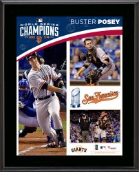 Buster Posey San Francisco Giants 2014 World Series Champions 10.5'' x 13'' Sublimated Plaque