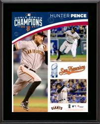 Hunter Pence San Francisco Giants 2014 World Series Champions 10.5'' x 13'' Sublimated Plaque