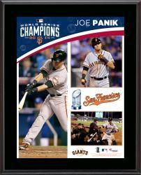 Joe Panik San Francisco Giants 2014 World Series Champions 10.5'' x 13'' Sublimated Plaque