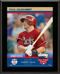 "Paul Goldschmidt Arizona Diamondbacks 2014 MLB All-Star Game Sublimated 10.5"" x 13"" Plaque"