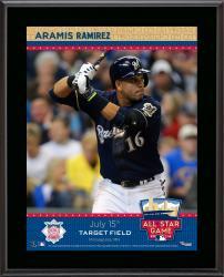 "Aramis Ramirez Milwaukee Brewers 2014 MLB All-Star Game Sublimated 10.5"" x 13"" Plaque"