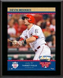 "Devin Mesoraco Cincinnati Reds 2014 MLB All-Star Game Sublimated 10.5"" x 13"" Plaque"