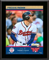 "Freddie Freeman Atlanta Braves 2014 MLB All-Star Game Sublimated 10.5"" x 13"" Plaque"