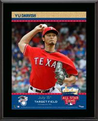 "Yu Darvish Texas Rangers 2014 MLB All-Star Game Sublimated 10.5"" x 13"" Plaque"