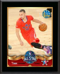 "Stephen Curry Golden State Warriors 2014 NBA All-Star Game Sublimated 10.5"" x 13"" Plaque"