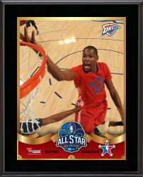 Kevin Durant Oklahoma City Thunder 2014 NBA All-Star Game Sublimated 10.5'' x 13'' Plaque - Mounted Memories