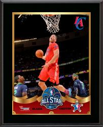 """Blake Griffin Los Angeles Clippers 2014 NBA All-Star Game Sublimated 10.5"""" x 13"""" Plaque"""