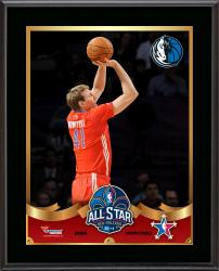 Dirk Nowitzki Dallas Mavericks 2014 NBA All-Star Game Sublimated 10.5'' x 13'' Plaque - Mounted Memories