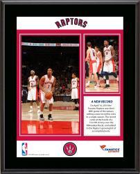 "Toronto Raptors Franchise Record For Season Wins Sublimated 10.5"" x 13"" Plaque"