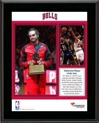 "Joakim Noah Chicago Bulls 2013-14 Defensive Player of the Year Winner Sublimated 10.5"" x 13"" Plaque"