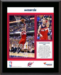 "Marcin Gortat Washington Wizards 30 Points 15 Rebounds 2014 Semifinals Game 5 Sublimated 10.5"" x 13"" Plaque"