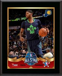 "Paul George Indiana Pacers 2014 NBA All-Star Game Sublimated 10.5"" x 13"" Plaque"