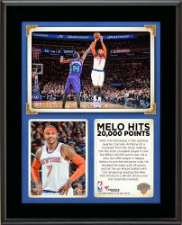 "Carmelo Anthony New York Knicks 20,000 Points 10"" x 13"" Sublimated Plaque"
