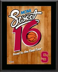 "Stanford Cardinal 2014 Sweet 16 Sublimated 10.5"" x 13"" Plaque"