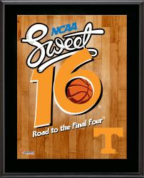 "Tennessee Volunteers 2014 Sweet 16 Sublimated 10.5"" x 13"" Plaque"
